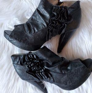 Torrid ankle booties heels